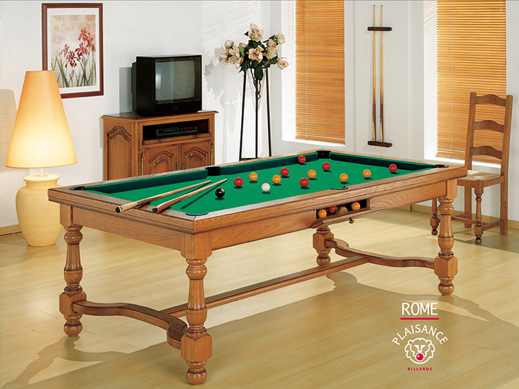 billard tables transformables pool anglais am ricain fran ais plaisance ligne rustique. Black Bedroom Furniture Sets. Home Design Ideas
