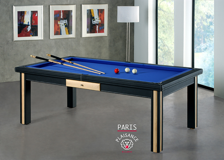 Billard tables transformables pool anglais am ricain fran ais plaisance - Billard americain design ...