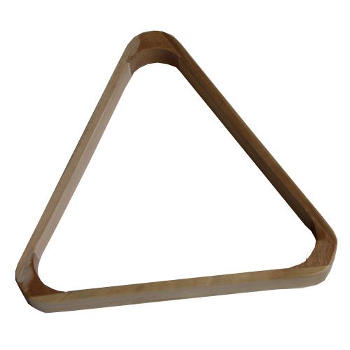 triangle en bois pour billes de billard 15 billes 50. Black Bedroom Furniture Sets. Home Design Ideas
